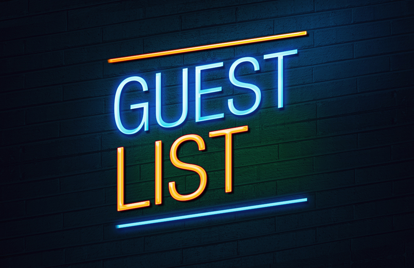 Guest List Application to Help Manage Lists