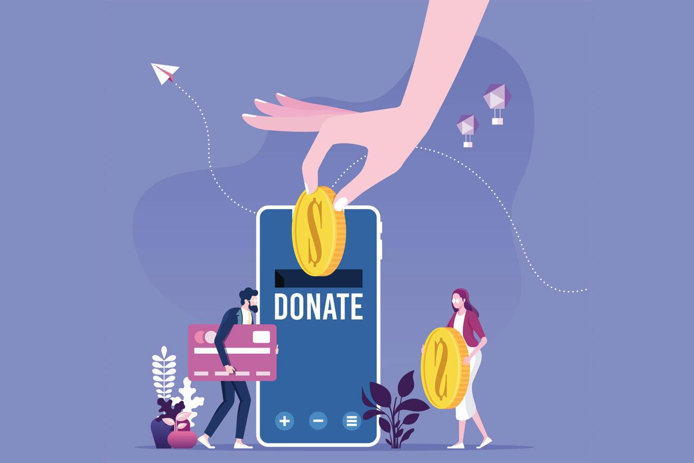 fundraising event website